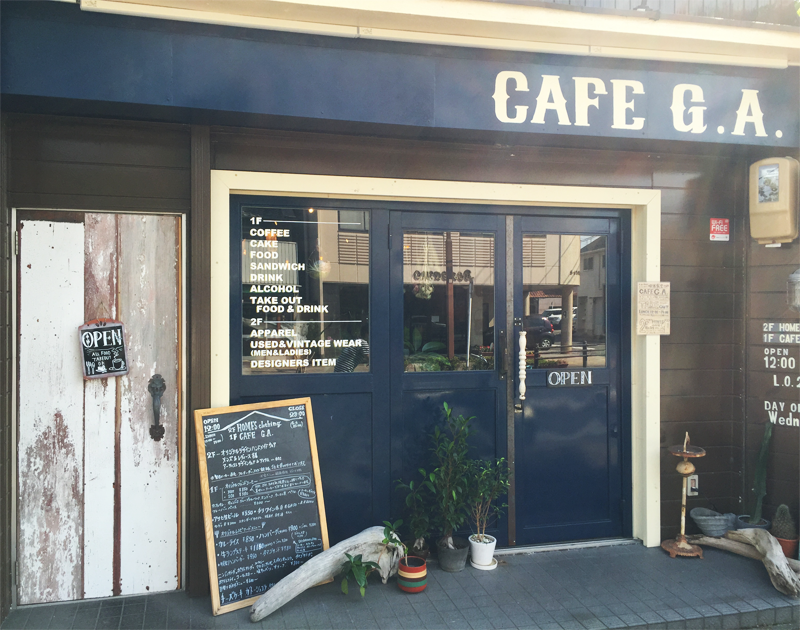 ABOUT CAFE G.A.外観